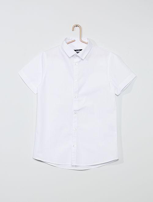 Hemd met korte mouwen                             wit