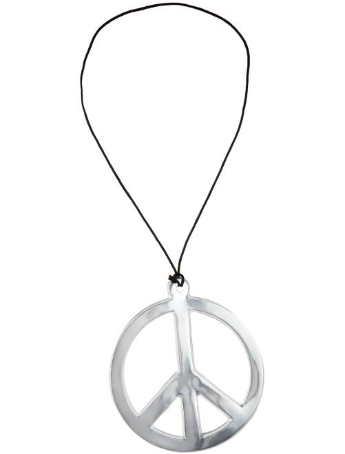 Hippieketting peace and love                                         ARGENT_