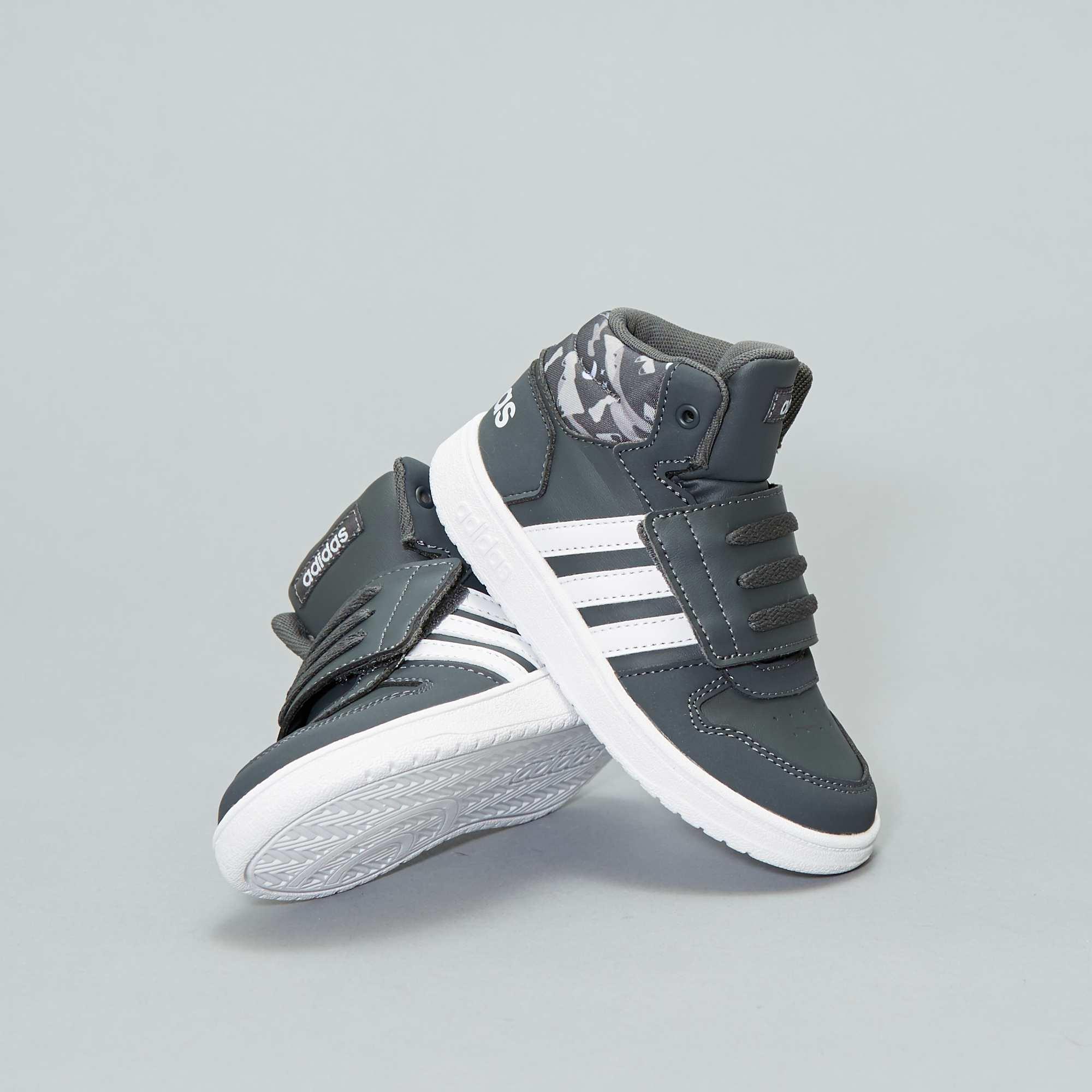 41e79cdceab Hoge imitatieleren 'HOOPS MID 2.0'-sneakers van 'Adidas' Jongens ...