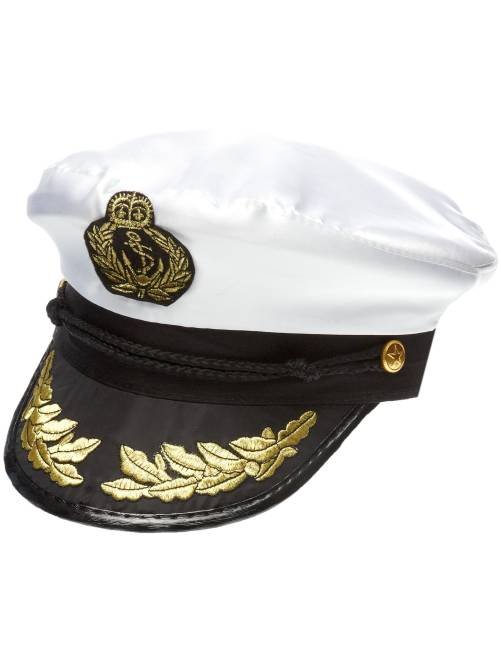 Kapiteinspet                             wit