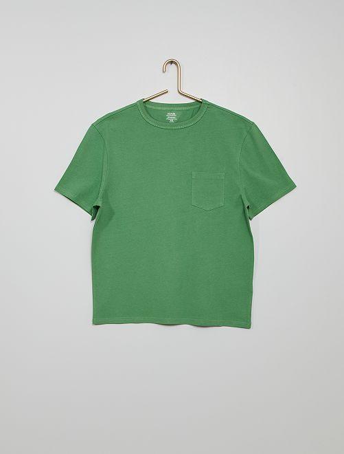 Katoenen T-shirt 'Ecodesign'                                                                                                                 GROEN