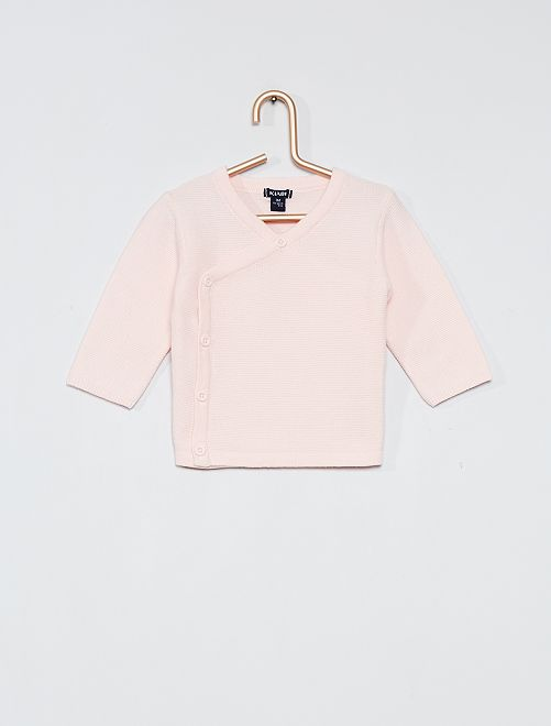 Katoenen vestje 'Ecodesign'                                         roze