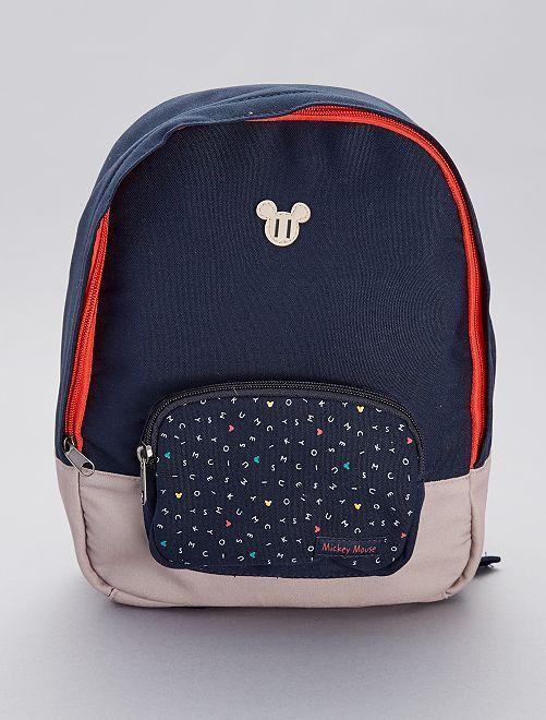 7285fa17651 Kleine rugzak van 'Mickey' Kinderkleding jongens - BLAUW - Kiabi ...