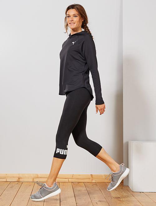 Korte legging van 'Puma'                             ZWART