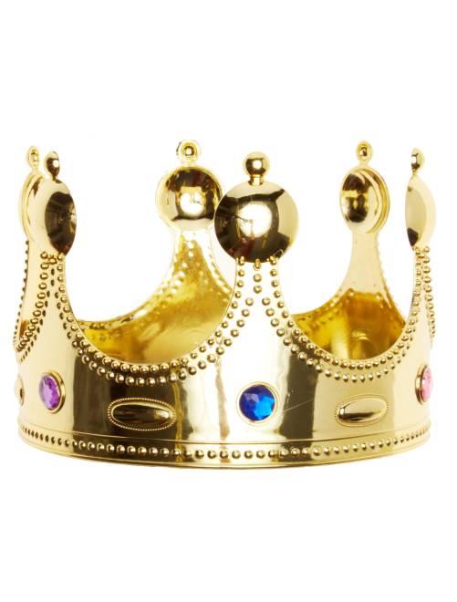 Kroon voor een koning                             goudkleur