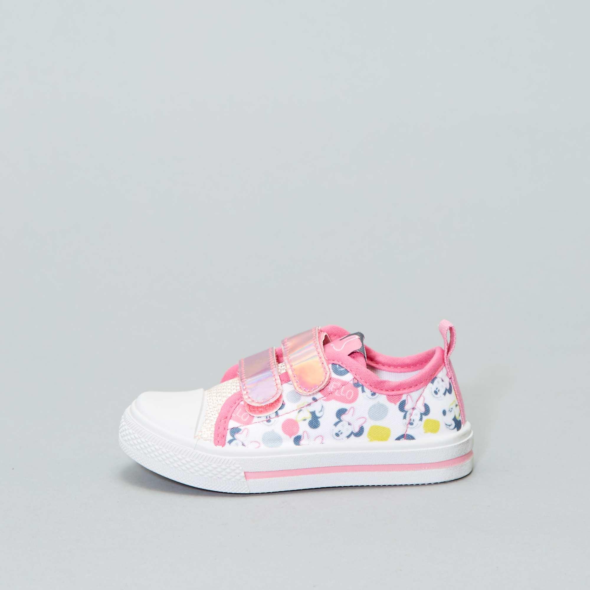 0108de8a80 Lage stoffen  Minnie Mouse -sneakers van  Disney  Kinderkleding ...