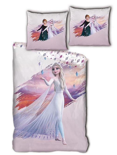Lakenset voor 1-persoonsbed 'Frozen'                             roze