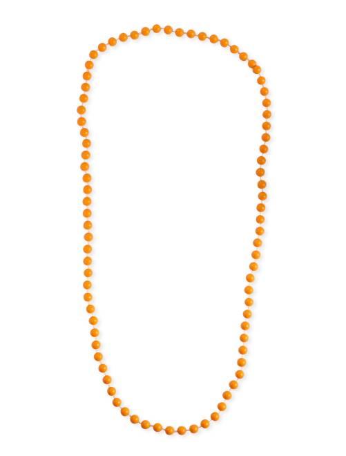 Lange kralenketting                                                                 oranje