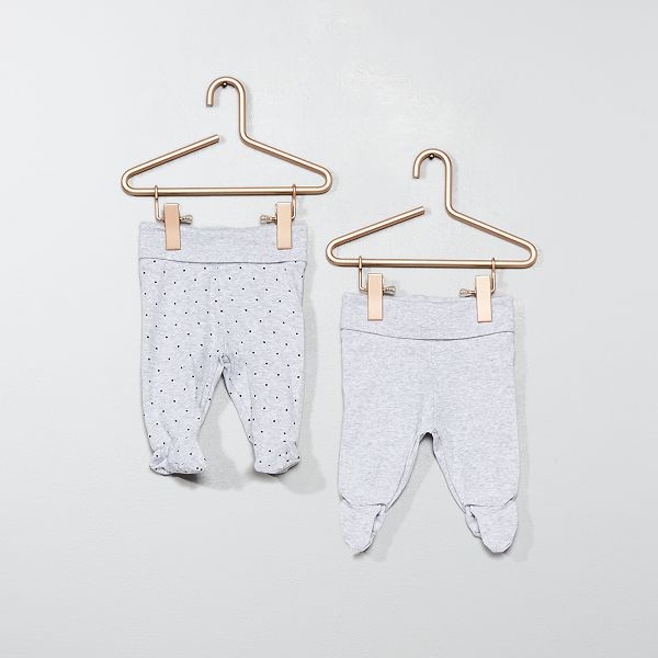 Legging Met Voetjes Ecodesign Jongens Babykleding Wit Kiabi 8 00