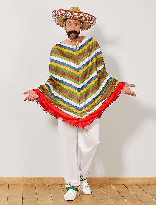 Mexicaans verkleedkostuum                             meerkleurig Heren