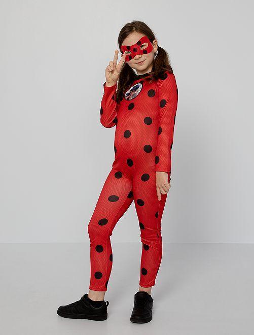 Miraculous-kostuum                             rood / zwart