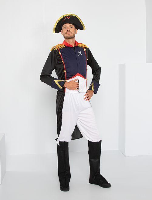 Napoleon verkleedkleding                             BLAUW