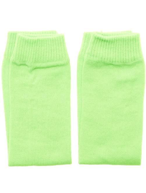 Neonkleurige beenwarmers                                                                             groen