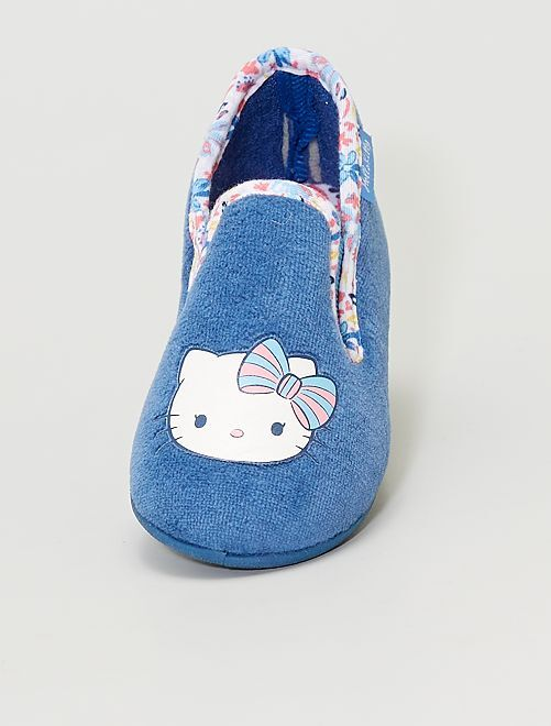 Pantoffels 'Hello Kitty'                             blauw