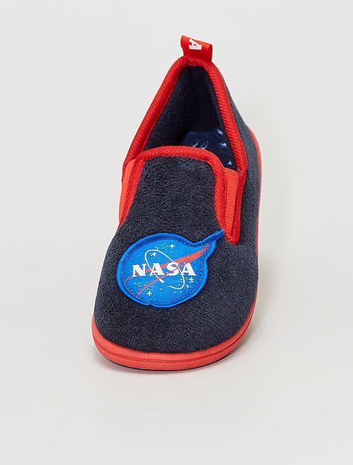 Pantoffels 'NASA'                             BLAUW
