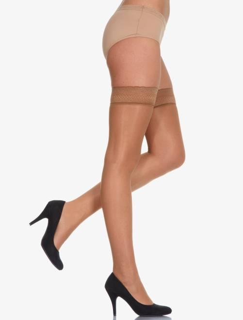 Panty kousen van 'Dim' Beauty Resist 'Dim Up'                     bruin