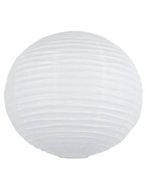 Papieren Chinese lampion van 35 cm                                                                                             wit
