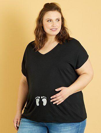 Zwangerschapskleding Voor Grote Maten.Zwangerschap Grote Maten Kiabi