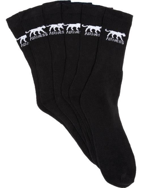 """""""Set van """""""" paar sokken van 'Airness'""""                             zwart"""