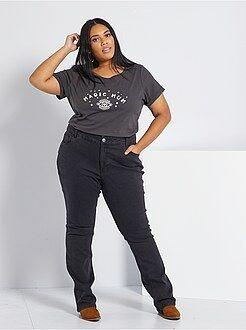 Jeans - Regular jeans van stretch denim, lengte 82 cm