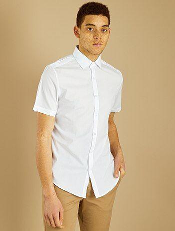 Maat Overhemd Man.Overhemd Maat 43 44 Kiabi