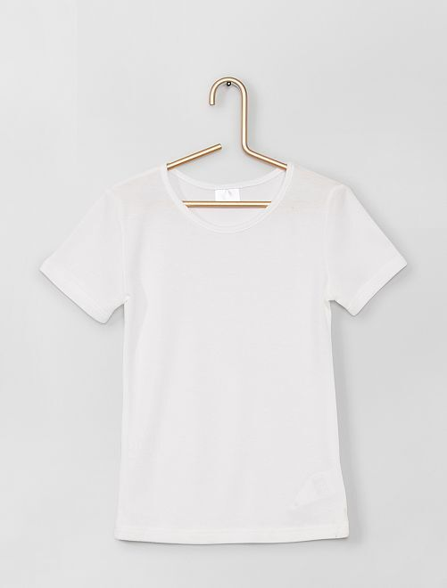 Set met 2 T-shirts Thermolactyl 'Damart'                             wit
