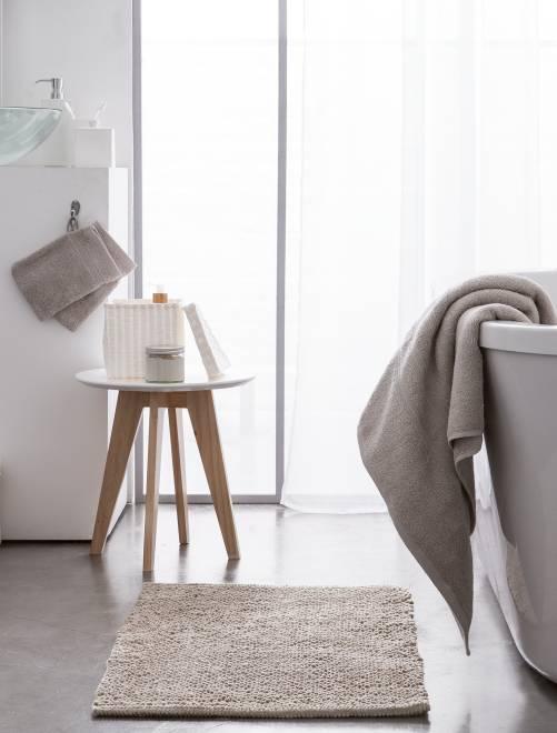 Set van 2 handdoeken van 30 x 50 cm                                                                                                                                         beige