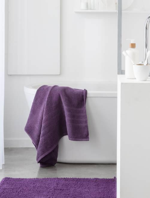 Set van 2 handdoeken van 30 x 50 cm                                                                                                                                         vijg roze