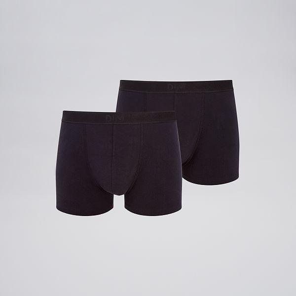 detaillering klassieke schoenen verschillende kleuren Set van 2 soft power boxershorts van 'DIM' Herenkleding ...