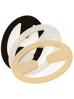 Lingerie accessoires - Set van 3 haakjes voor bandjes