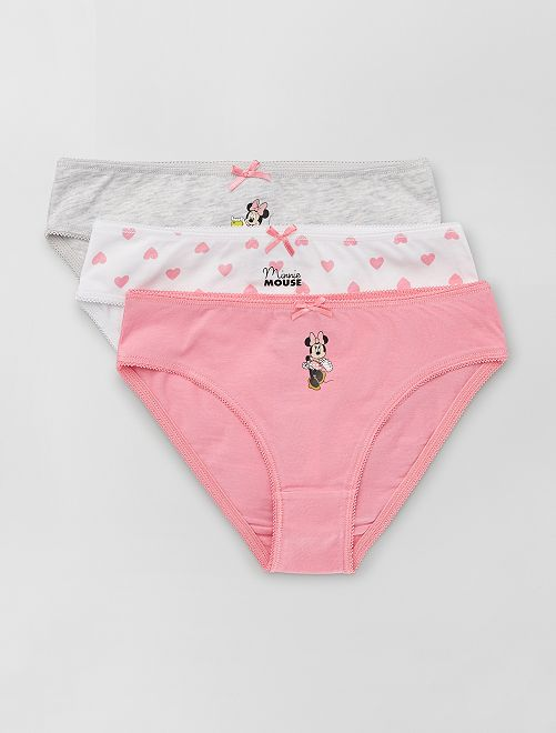 Set van 3 onderbroekjes 'Minnie'                                         ROSE
