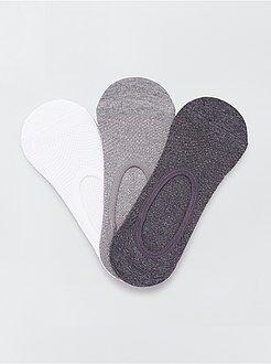 Sokken, panty's - Set van 3 paar onzichtbare sokken