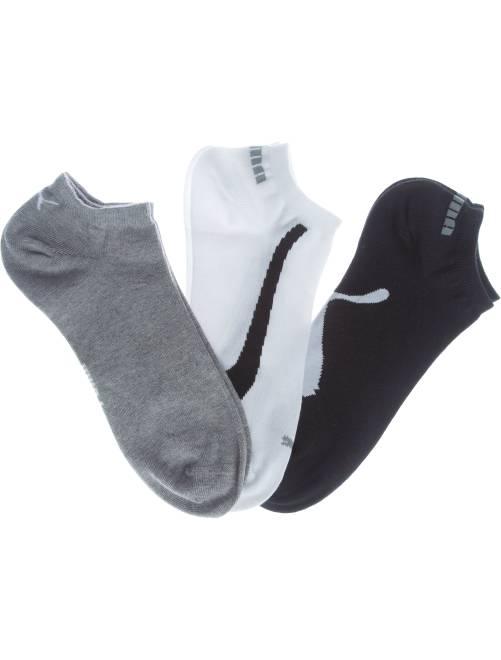 Set van 3 paar 'Puma' sokjes                                         wit / grijs / zwart Herenkleding