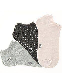 Sokken, panty's - Set van 3 paar sokjes