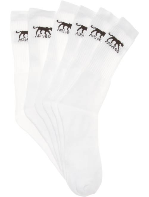 Set van 3 paar sokken van 'Airness'                             wit Herenmode grote maten