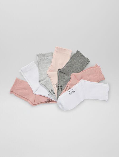 Set van 7 paar sokken                             ROSE