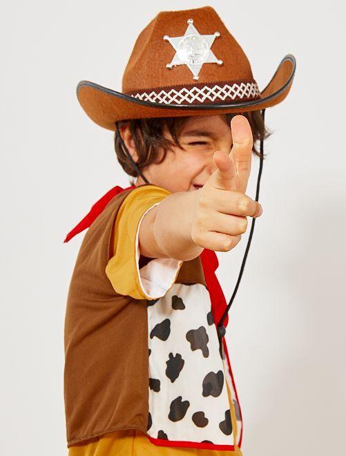 Sheriffhoed voor kinderen                                         MARRON_