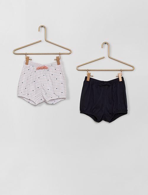 Shorts van katoenen voile                                                                 ROSE