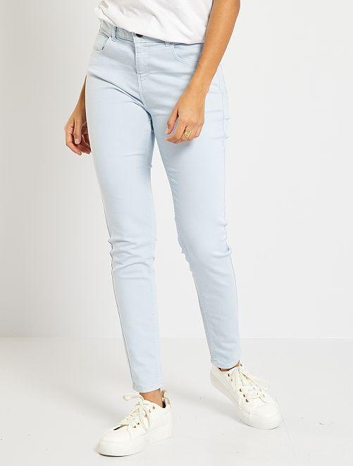 Skinny-fit jeans 'Ecodesign'                                                                                         BLAUW