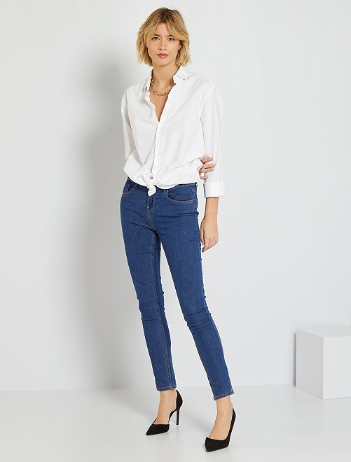 Skinny-fit jeans 'Ecodesign'                                                                                         steen