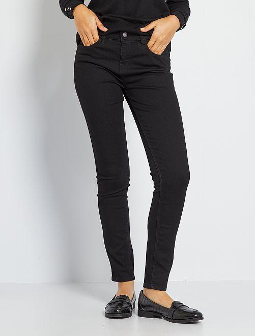 Skinny-fit jeans 'Ecodesign'                                                                                         zwart