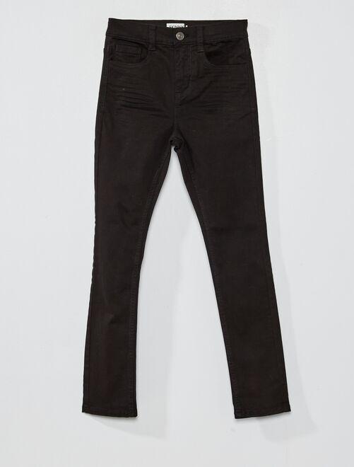 Skinnybroek met vijf zakken                                                                                                                             zwart