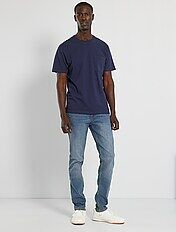 Slim-fit jeans L32 \'Ecodesign\'