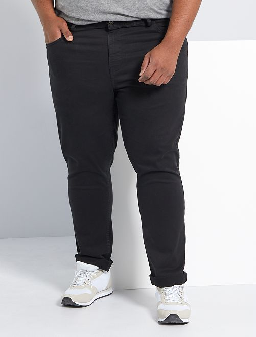Slimfit broek                                                                                                     zwart