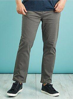 Herenmode grote maten Slimfit gekleurde jeans