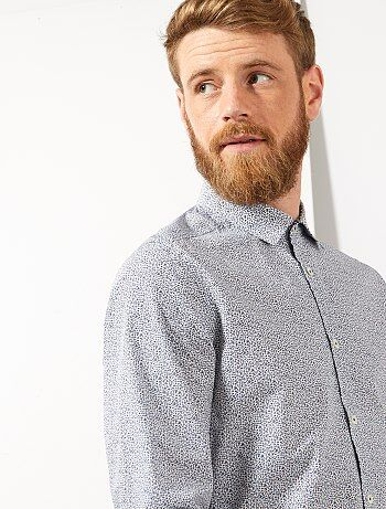 Glanzend Overhemd Heren.Goedkoop Chique Overhemd Heren Overhemden Van Topkwaliteit Mode