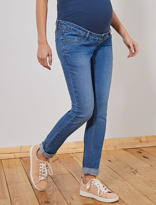 Slimfit stretch jeans Ecodesign                                                     denim stonewash