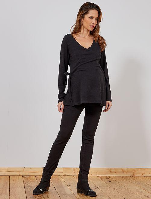 Slimfit stretch jeans Ecodesign                                         zwart