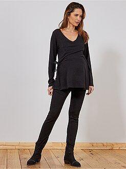Zwangerschapskleding Slimfit stretch jeans