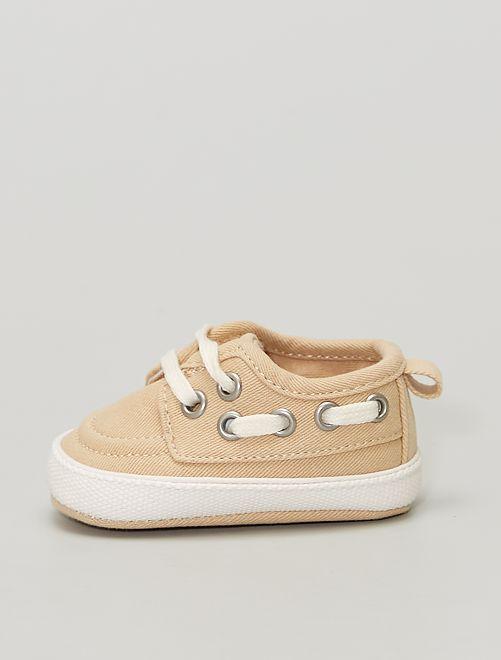 Sneakers                             BIEGE